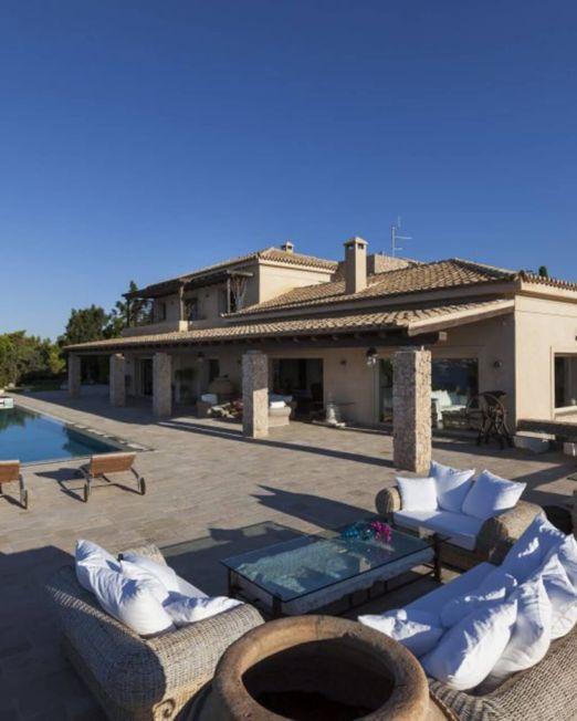 villa aphrodite for rent complex three villas porto heli greece